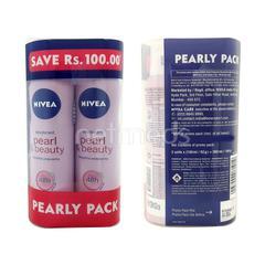 Nivea Pearl & Beauty Deodorant (Pack of 2 x 150 ml)