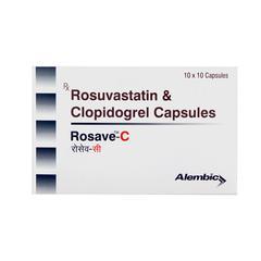 Rosave C 10/75mg Capsule 10'S