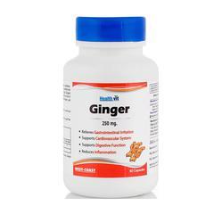 HealthVit Ginger 250 mg Capsule 60's