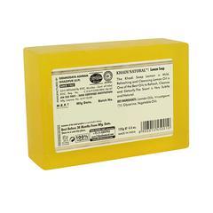Khadi Natural Herbal Soap - Lemon 125 gm