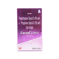 Lacryl Ultra Eye Drops 10ml