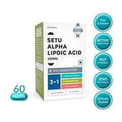Setu Alpha Lipoic Acid 300 mg (Antioxidant) Tablet 60's