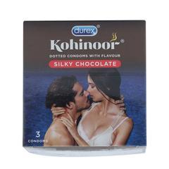 Durex Kohinoor Condoms - Silky Chocolate 3's