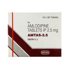 Amtas 2.5mg Tablet 30'S