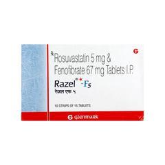 Razel F 5mg Tablet 15'S