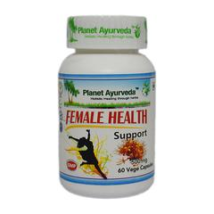Planet Ayurveda Female Health Support Capsules 60's