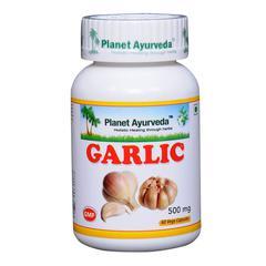 Planet Ayurveda Garlic Capsules 60's