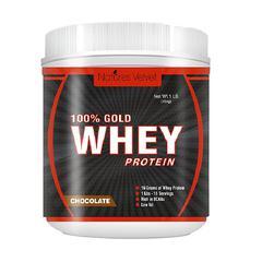 Natures Velvet 100% Gold Whey Powder - Chocolate 454 gm