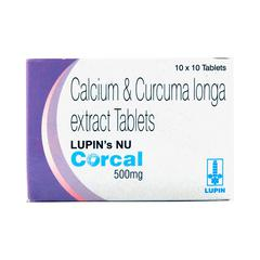 Corcal (Nu) 500mg Tablet 10'S