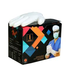 1Mile Latex Examination Gloves (XS) 100's