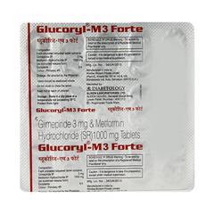 Glucoryl M3 Forte Tablet 15'S