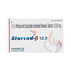 Starcad Beta 12.5mg Tablet 10'S