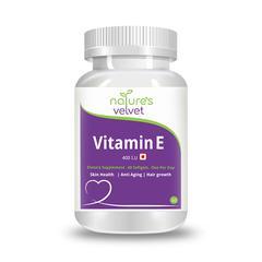 Natures Velvet Vitamin E 400 I.U Softgel 60's