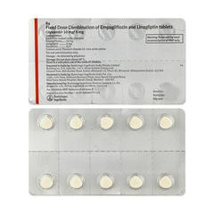 Glyxambi 10/5mg Tablet 10'S