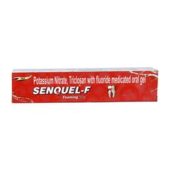 Senquel F Foaming Oral Gel 50gm