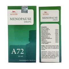 Allen A72 Menopause Drops 30 ml