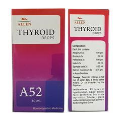 Allen A52 Thyroid Drops 30 ml