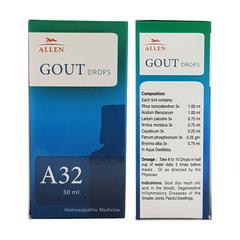 Allen A32 Gout Drops 30 ml