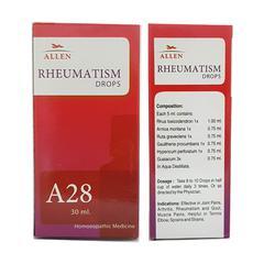 Allen A28 Rheumatism Drops 30 ml
