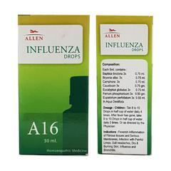 Allen A16 Influenza Drops 30 ml