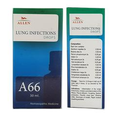 Allen A66 Lung Infections Drops 30 ml