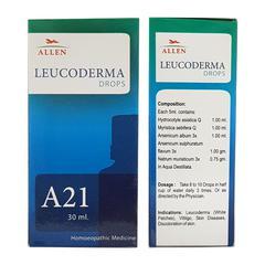 Allen A21 Leucoderma Drops 30 ml