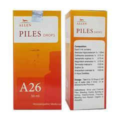 Allen A26 Piles Drops 30 ml