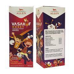 Allen Vasakof Honey Cough 4Kids Syrup 100 ml