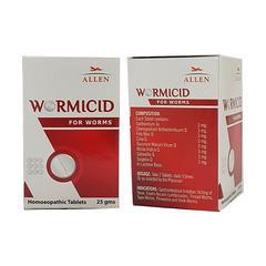 Allen Wormicid Tablet 25 gm