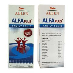 Allen Alfa Plus Sugar Free Family Tonic 100 ml