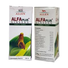 Allen Alfa Plus Ginseng Family Tonic 200 ml