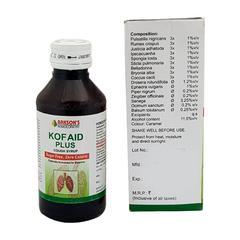 Bakson's Kof Aid Plus Sugar Free Cough Syrup 115 ml