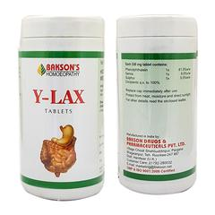 Bakson's Y-Lax Tablet 350 gm