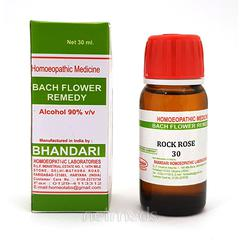 Bhandari Bach Flower Rock Rose 30 Liquid 30 ml
