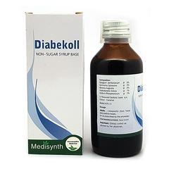 Medisynth Diabekoll Non-Sugar Syrup 125 ml