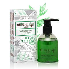 Natural Vibes Ayurvedic Tea Tree Face Wash 150 ml