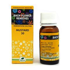 New Life Bach Flower Mustard 30 Liquid 30 ml