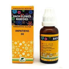 New Life Bach Flower Impatiens 30 Liquid 30 ml