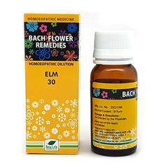 New Life Bach Flower Elm 30 Liquid 30 ml