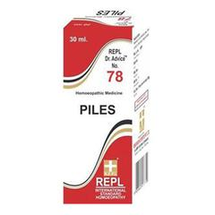 Repl Dr. Advice No.78 Piles Drops 30 ml