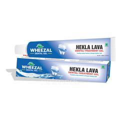 Wheezal Hekla Lava Dental Cream 100 gm