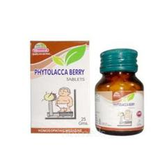 Wheezal Phytolacca Berry Tablet 25 gm