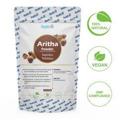 HealthVit Natural Aritha (Sapindus Trifoliatus) Powder 100 gm