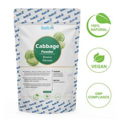 HealthVit Natural Cabbage (Brassica Oleracea) Powder 100 gm