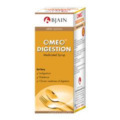Bjain Omeo Digestion Medicated Syrup 100 ml