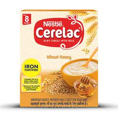 Nestle Cerelac Stage 3 (10 Months+) Powder 300 gm - Wheat Honey Dates (Refill Pack)