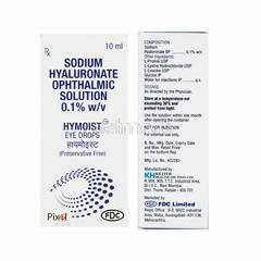Hymoist Eye Drops 10ml