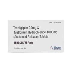 Terostil M Forte Tablet 10'S