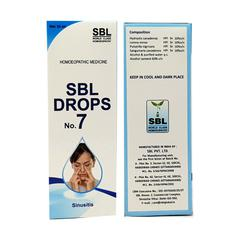 SBL Drops No. 7 (Sinusitis) 30 ml
