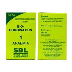 SBL Bio-Combination 1 Tablet 25 gm